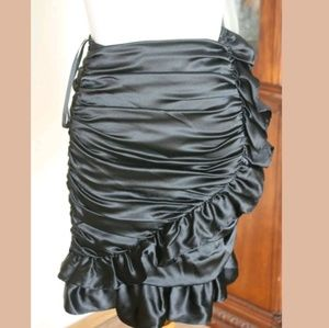 Betsey Johnson silk skirt